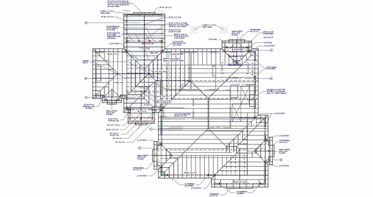 Roof framing plan new calendar template site for Free cupola plans